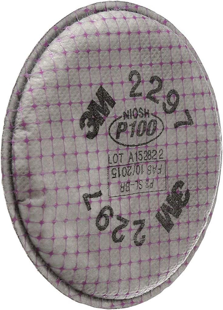 3M Advanced Particulate Filter, 2297, P101, 2 Count