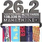 Gone For a Run | Runner's Race Medal Hanger | 26.2 Math Miles