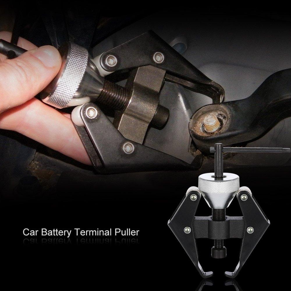 KKmoon Batterie Terminal Gardant Essuie glace Bras Remover Extracteur de loutil de R/éparation de Voiture Camionnette