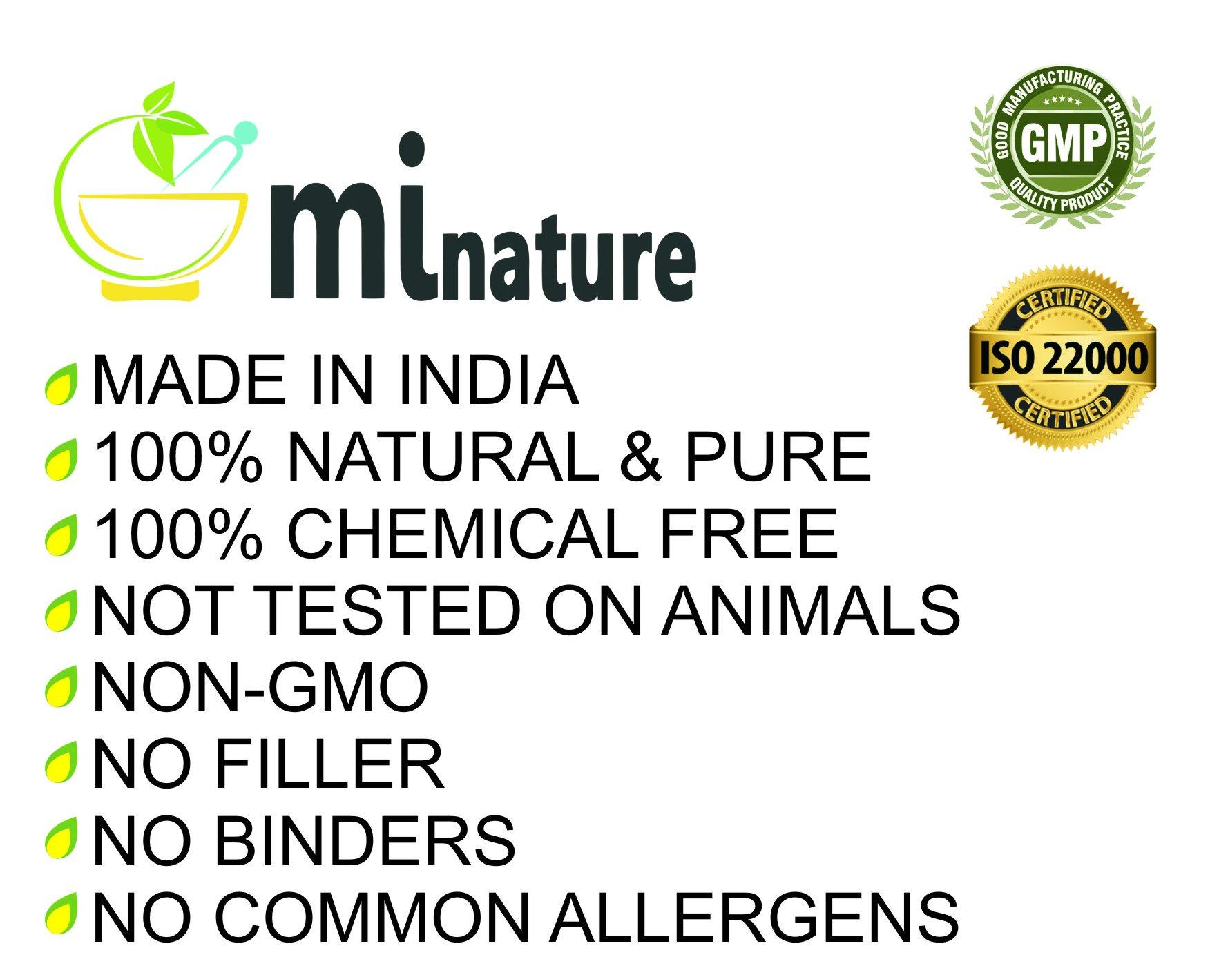 mi nature Indigo Powder -INDIGOFERA TINCTORIA,(100% NATURAL, ORGANICALLY GROWN) 1 LB (454 grams/16 ounces) RESEALABLE BAG by mi nature (Image #3)