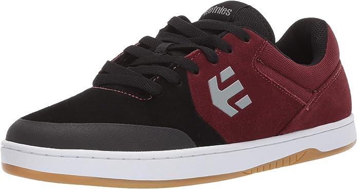 Etnies Marana Sneakers Skateboardschuhe Damen Herren Unisex Schwarz/Dunkelrot