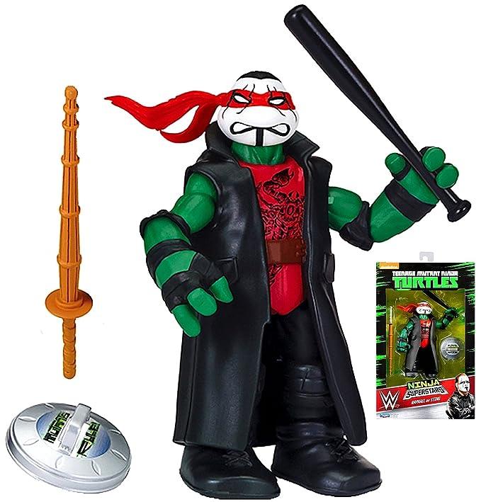 Amazon.com: Teenage Mutant Ninja Turtles Raphael as Sting ...