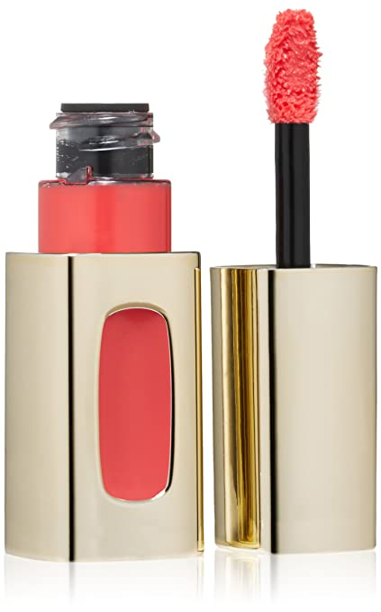 L'Oreal Paris Colour Riche Extraordinaire Lip Color, Coral Encore, 0.18 Fluid Ounce