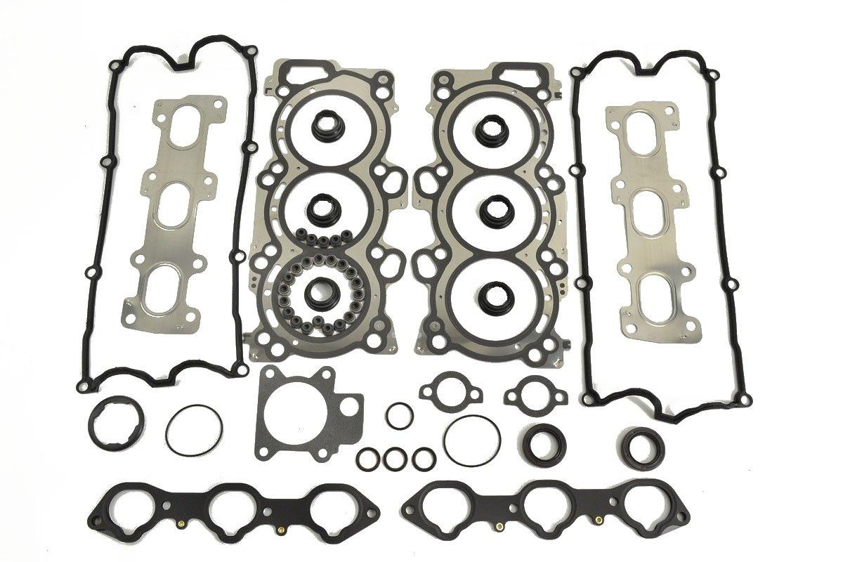 ITM Engine Components 09-11944 Cylinder Head Gasket Set for Isuzu/Honda 3.2L/3.5L DOHC V6, 6VD1/6VE1, Passport, Rodeo, Rodeo Sport