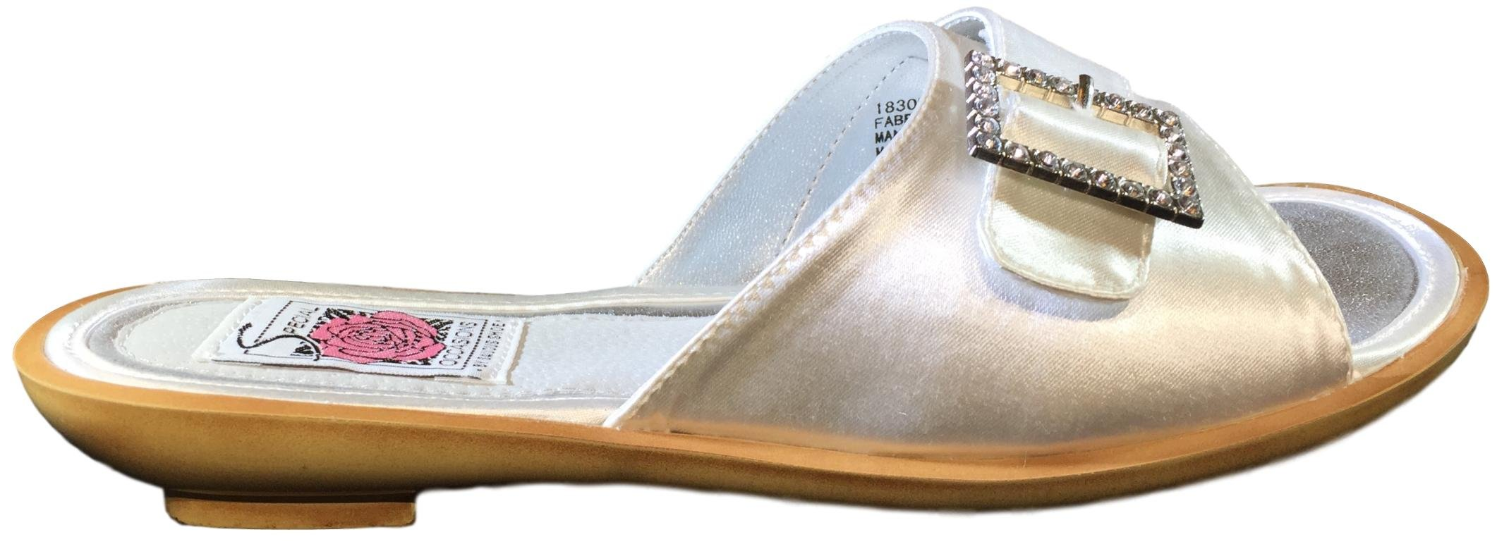 Saugus Dress Slippers | Womens Dress up for Wedding Cocktail Beach Party |Special Occasions 1830 (9.5 M)