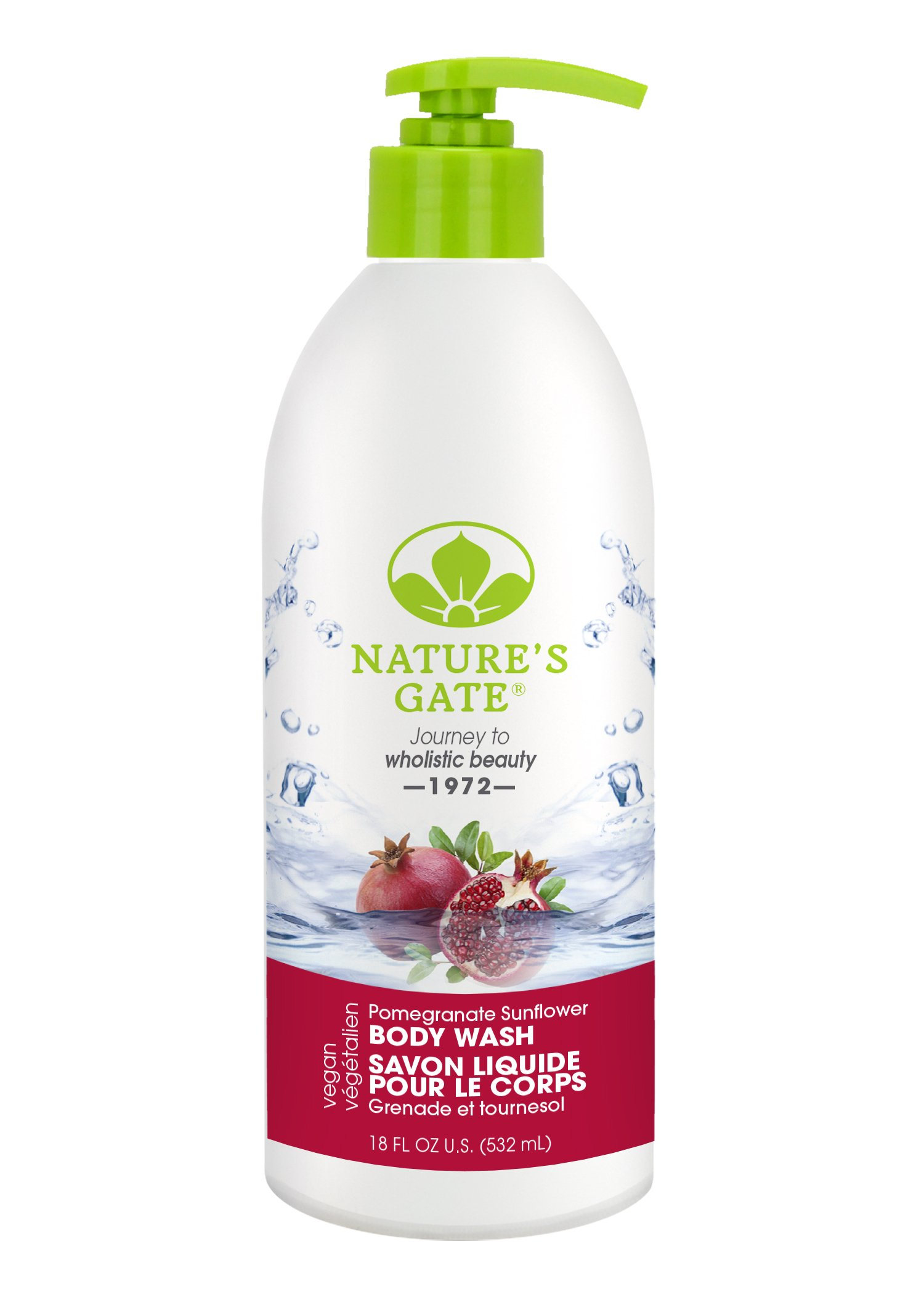 Nature S Gate Pomegranate Sunflower Body Wash
