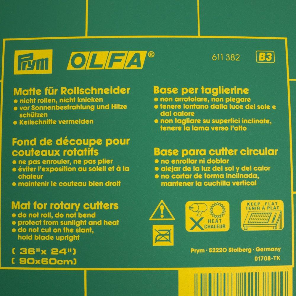 Stoffe Werning Olfa Schneidematte Prym 60 x x x 45 cm Matte für Rollschneider - Preis Gilt für 1 Matte - B07BYBL49J   Erste Klasse in seiner Klasse  7d9a1e
