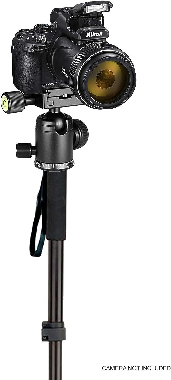Professional Heavy Duty 72 Monopod//Unipod Dual Optional Head for Fujifilm Finepix S9500