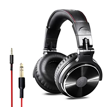 Onedio Dj Headphones Adapter Free Closed Over Ear Stereo Headset