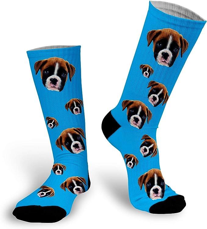 Funny Dog Thug Life Custom Printed Socks Dog Thug Life Socks Upload Any Face