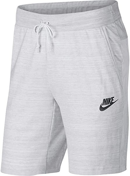 a0fc31ddb7a Nike Mens M NSW AV15 Short Knit 885925-100_XS - White/HTR/White ...