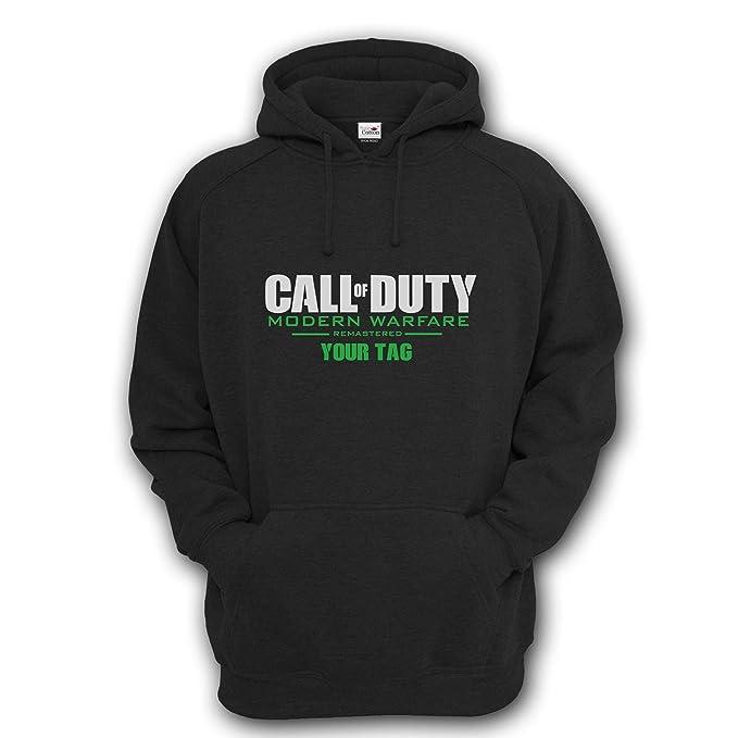 Sudadera con capucha, diseño de Call Of Duty: Modern Warfare personalizada, para niños y adultos: Amazon.es: Ropa y accesorios