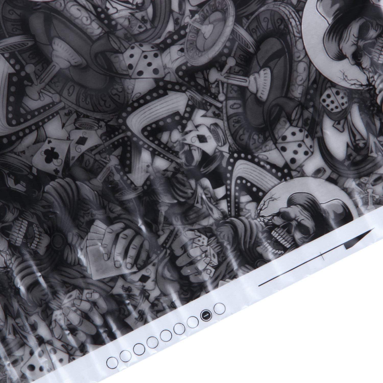 Water Transfer Printing 1 Meter Rolling Bones Vaorwne Hydrographic Film Dipping