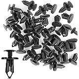 GOOACC Nylon Bumper Fastener Rivet Clips Automotive Furniture Assembly Expansion Screws Kit Auto Body Clips 8mm - 40PCS