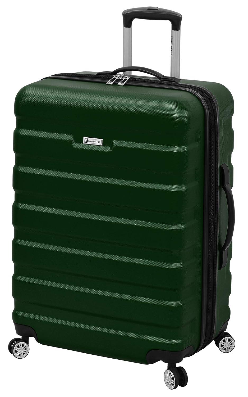 London Fog 機内持ち込み手荷物, Hunter Green Sr, One Size B07HF54RXG Hunter Green Sr
