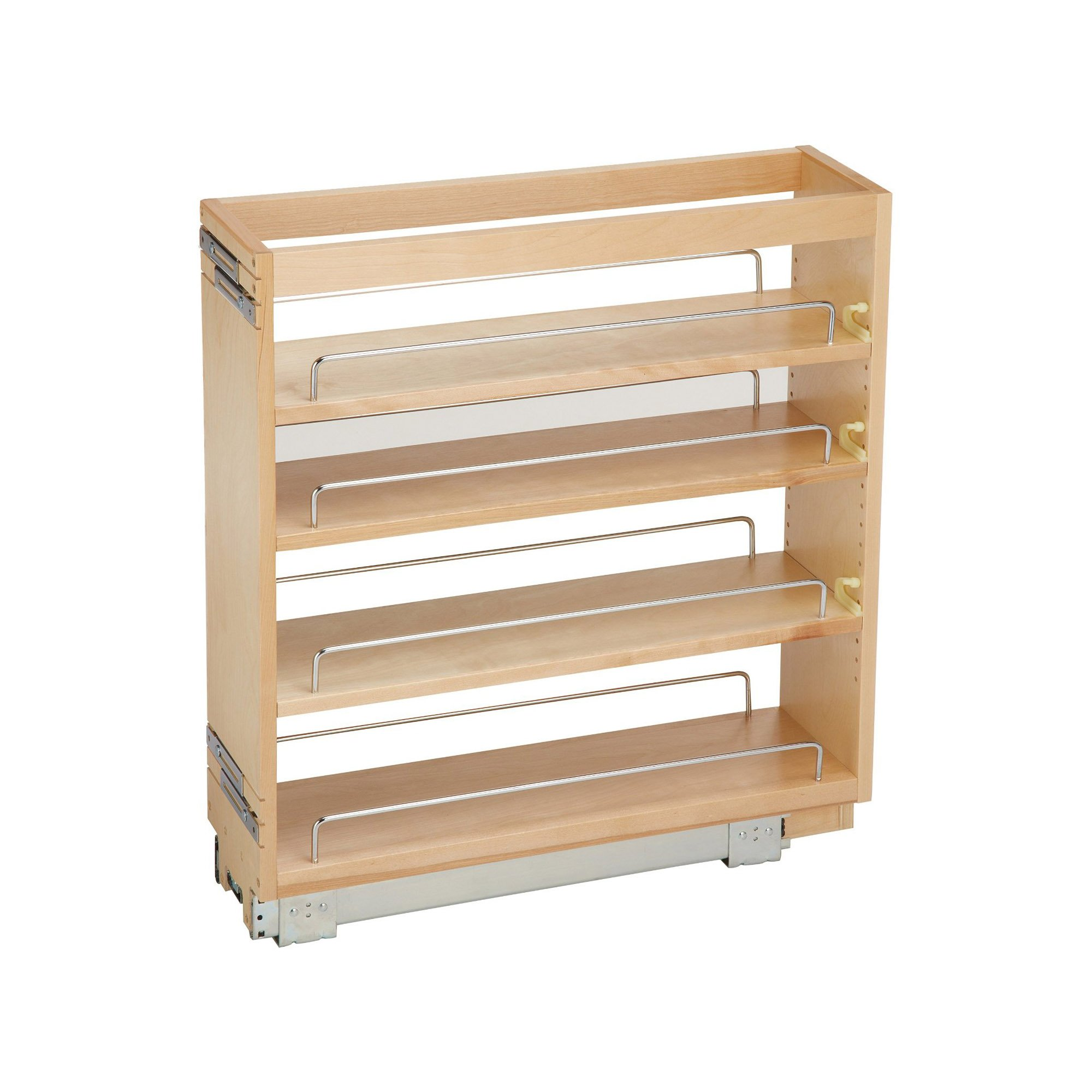 Rev-A-Shelf - 448-BC-6C - 6.5 in. Pull-Out Wood Base Cabinet Organizer by Rev-A-Shelf