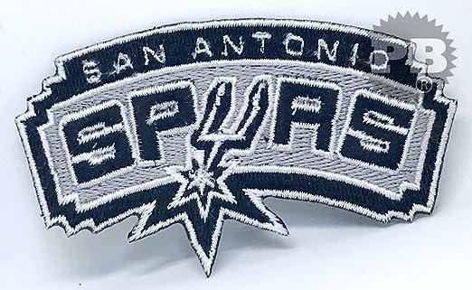968 San Antonio Spurs NBA baloncesto hierro Sew en bordado parche ...