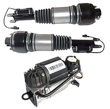 2 x delantero Aire Muelle patas + 1 x Compresor de aire 2113205513 2203200104 a2193201213: Amazon.es: Coche y moto