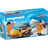 Playmobil 5396 City Action Aircraft Tug with Ground Crew