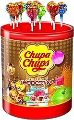 Chupa Chups Tubo de 50 Sucettes Best Of 600 g