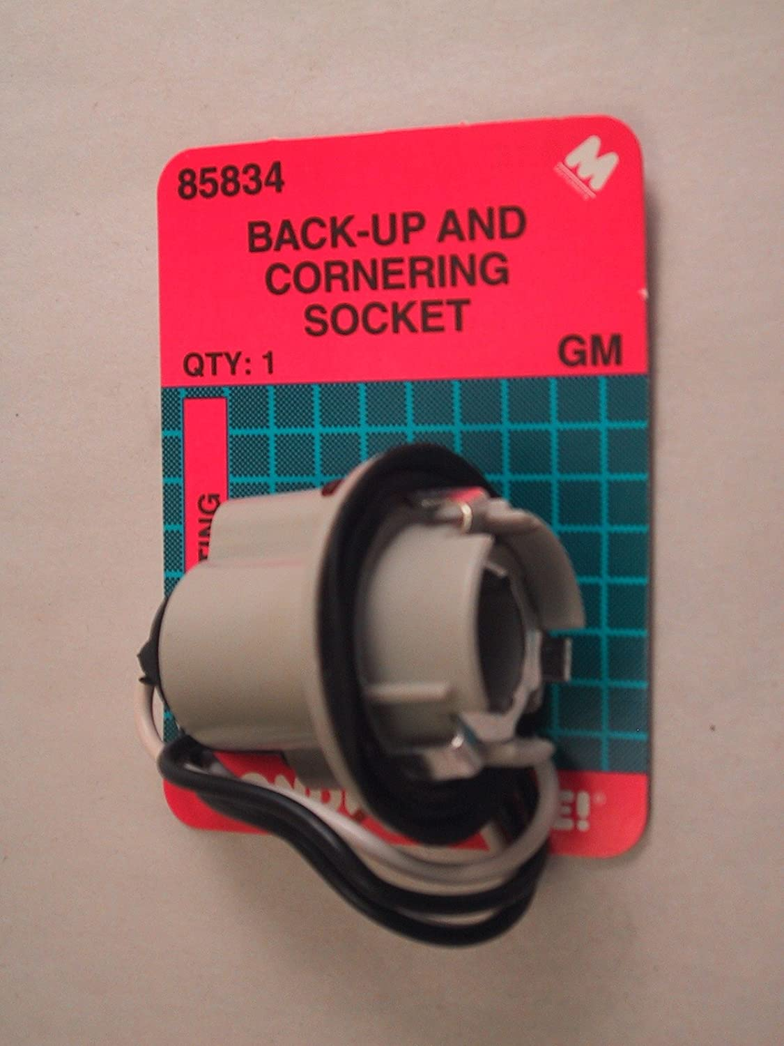 Dorman 85834 2 Wire Gm Single Contact Back Up And Corner Show Details For 923009 Tail Lamp Circuit Board Socket Automotive