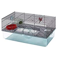 Favola Hamster Cage | Includes Free Water Bottle, Exercise Wheel