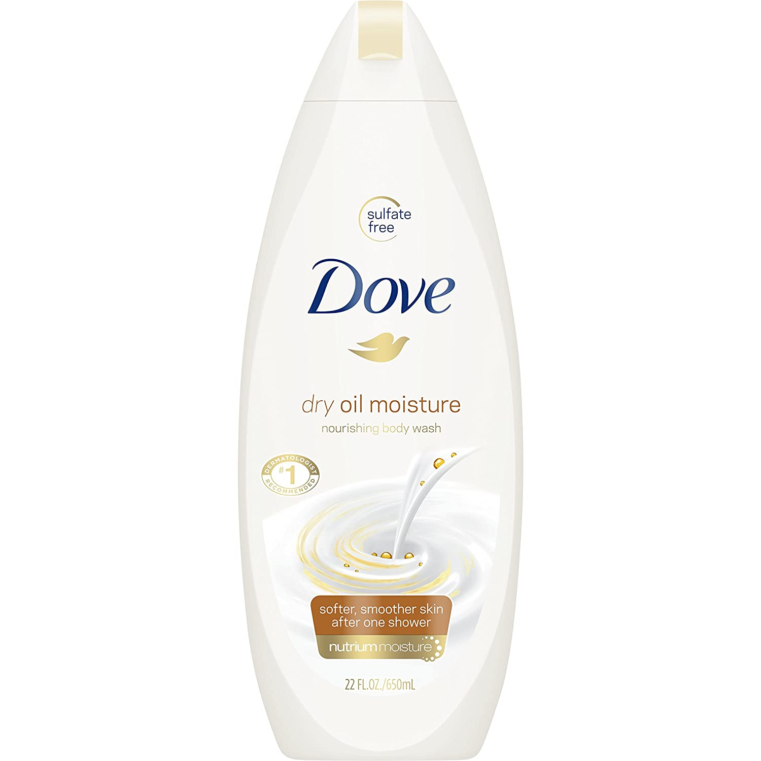 Dove Body Wash, Dry Oil Moisture Best Body Wash for Women