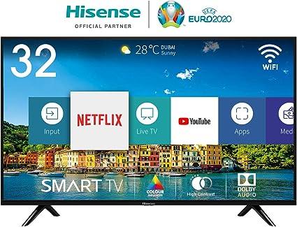 Hisense H32BE5500, Smart Tv, 1, Negro: Amazon.es: Electrónica