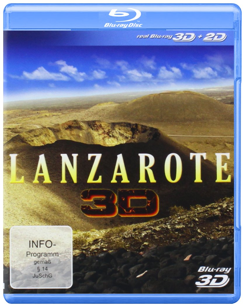 Lanzarote [3D Blu-ray] - Natur pur
