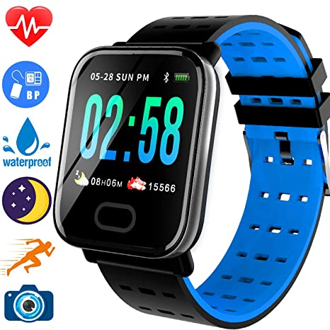 Digital Watches Good Smart Watch Led Display Ip68 Waterproof Heart Rate Monitoring Bracelet Fitness Stopwatch Lookup Device Smart Watch Watches