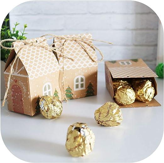 Christmas Tree sweet Bags Gift Food Bread Candy box Wedding Party Keepsake Bags
