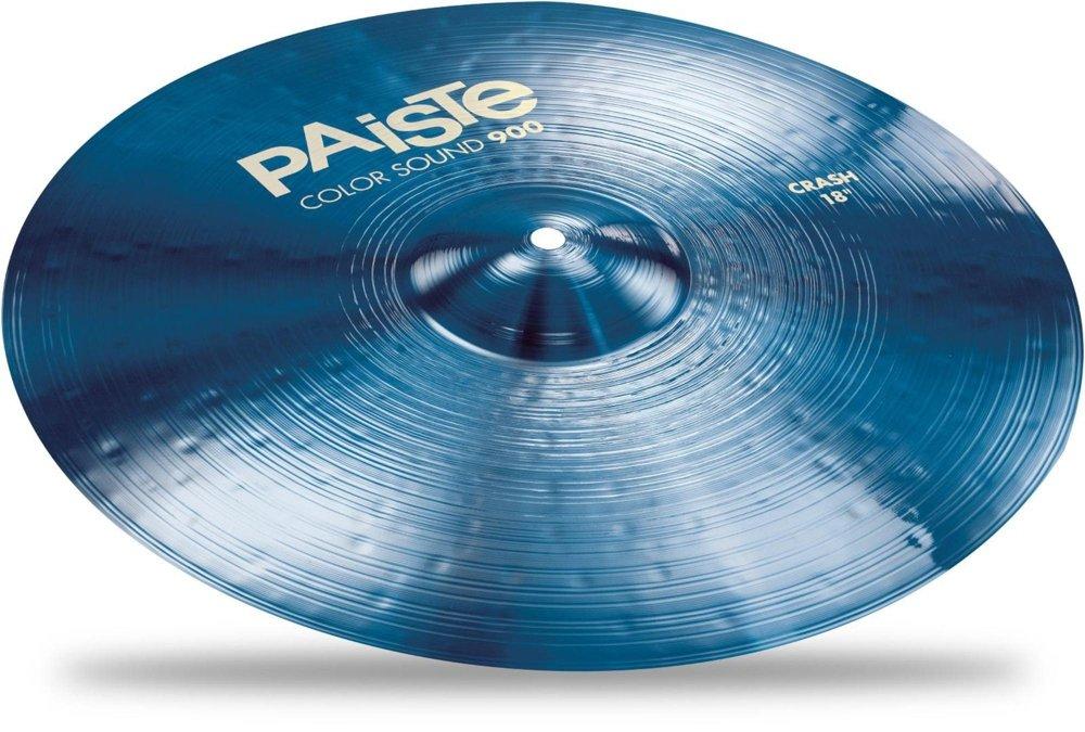 B06Y55Y933 Color 18″ クラッシュシンバル  18インチ Series  PAiSTE Crash (パイステ) BLUE Sound 900