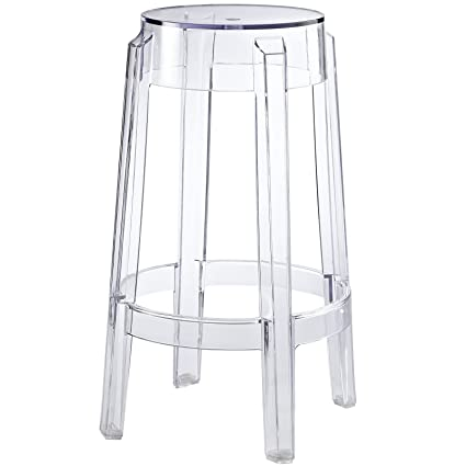 Charmant Modway Casper Contemporary Modern Counter Bar Stool In Clear