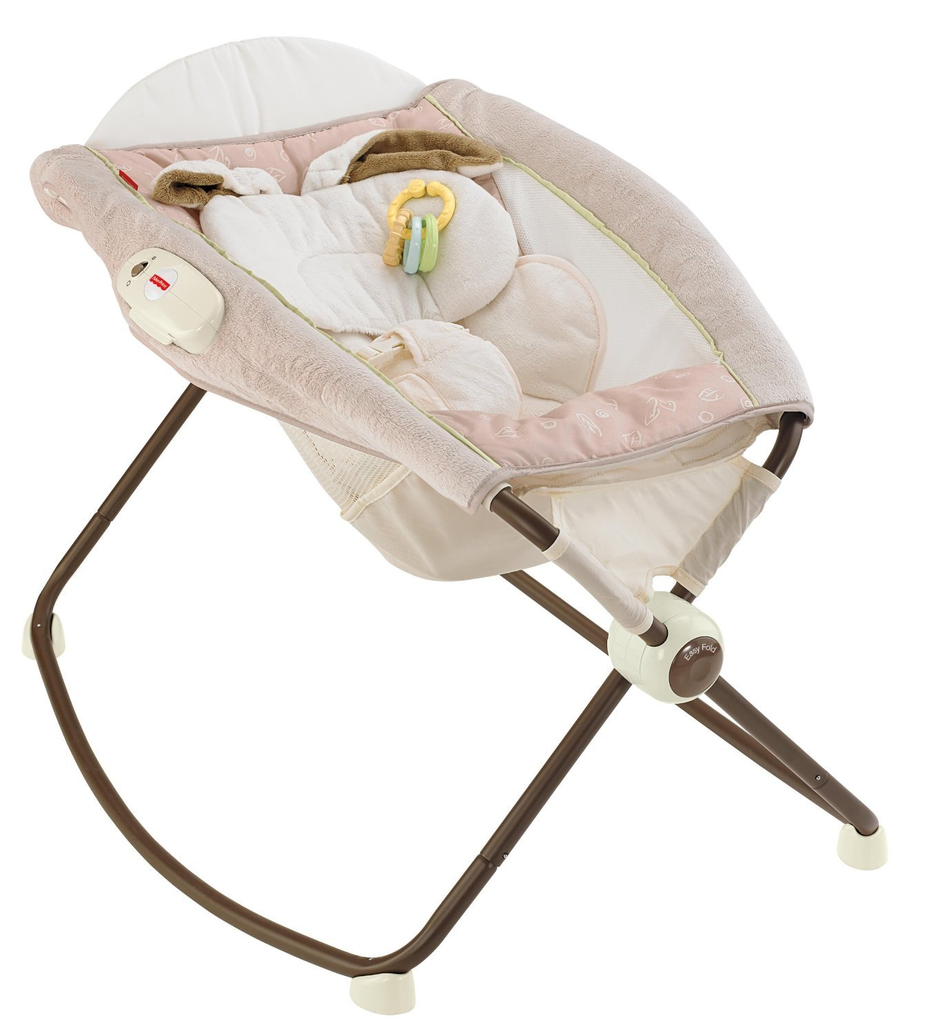 Fisher-Price New born Rock n Play Sleeper, My Little Snugabunny: Amazon.es: Bebé