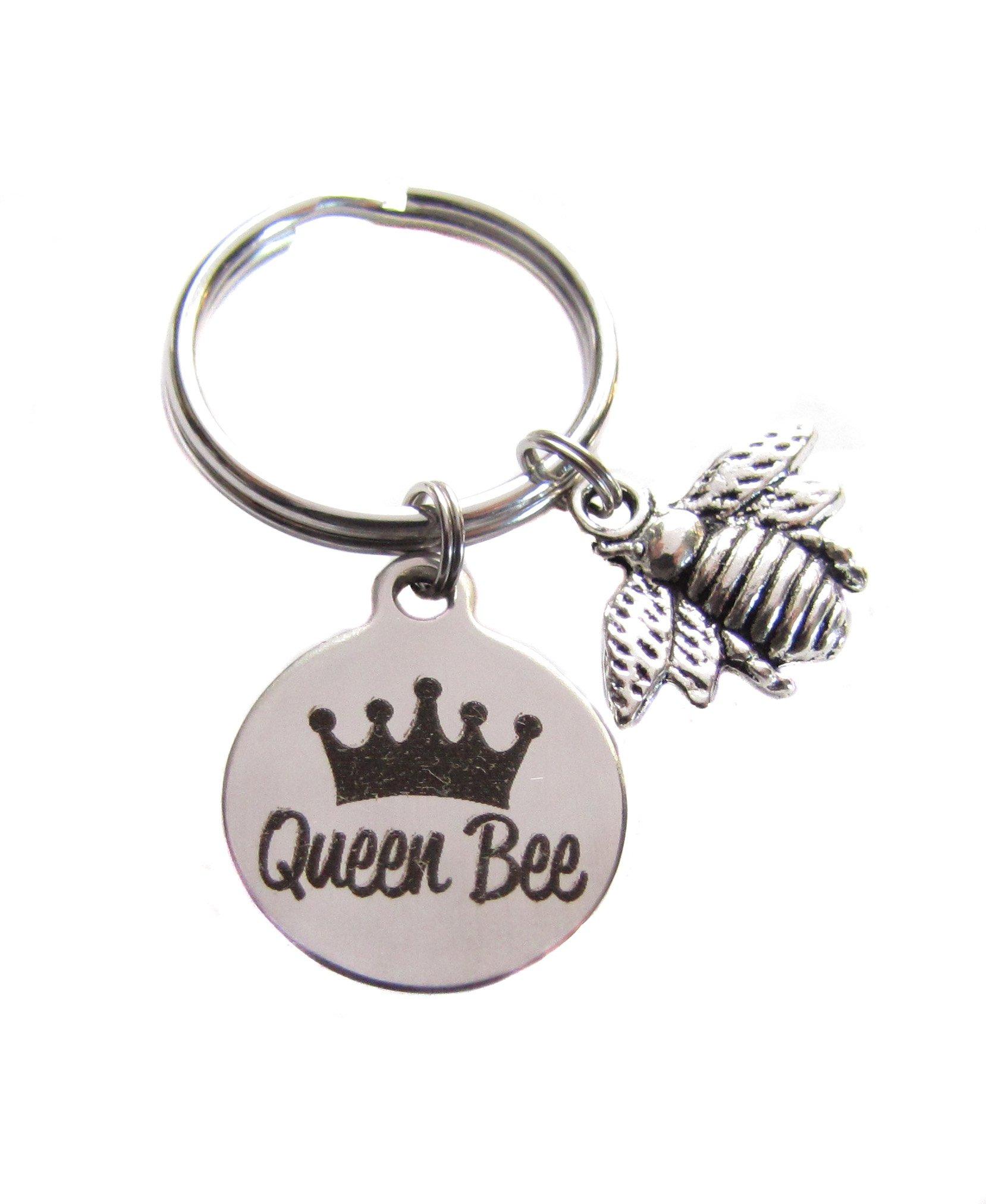 Queen Bee Honey Bee Bumblebee Bee Key Chain Bag Charm