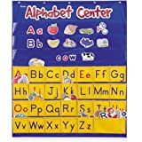 Learning Resources Alphabet Center Pocket Chart, ABCs, Letter, Word Recognition, Alphabet Pocket Chart, 156 Pieces, Ages 3+