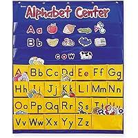 Alphabet Center Pocket Chart, ABCs, Letter, Word Recognition, 212 Pieces