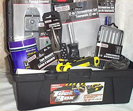 Amazoncom Mens Tool Chest Gift Basket Beginers Gifts