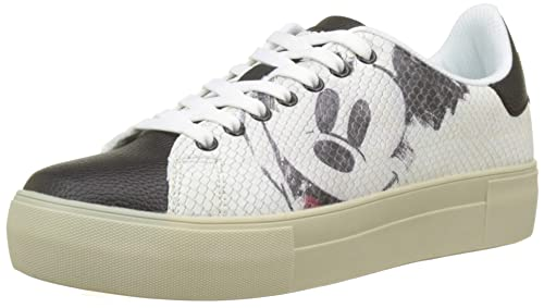 Shoes MickeyBaskets star Femme Basses Desigual kwPn0O