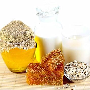 Leche de harina de avena y miel - para hacer velas fragancia aceite, difusores, quemadores de aceite, aromaterapia 125 ml/4oz: Amazon.es: Juguetes y juegos