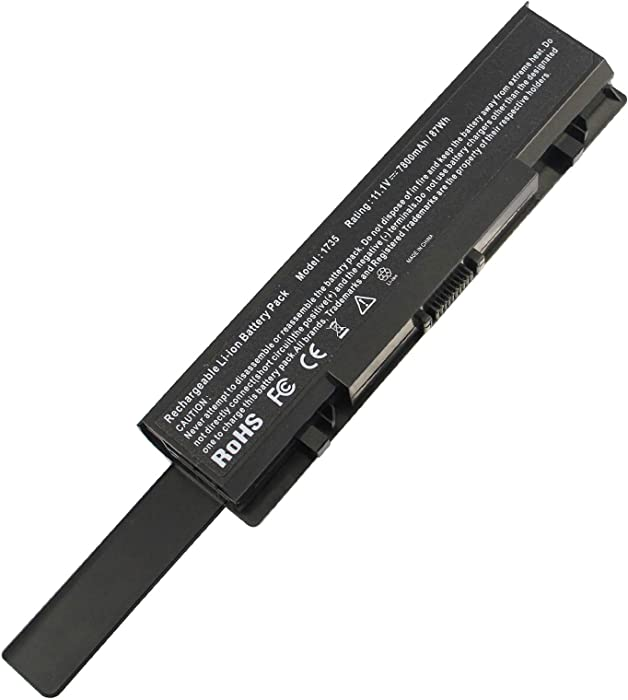 AC Doctor INC New 9 Cell 7800mAh Laptop Battery for Dell Studio 1735 1736 1737 KM973 RM791 US