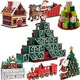 Adventskalender zum befüllen Pyramide ✔ Modellauswahl ✔ DIY ✔ Holz ✔ befüllbar & wiederverwendbar ✔ Holzadventskalender Weihnachtsdeko Holzboxen Deko Weihnachten Kalender