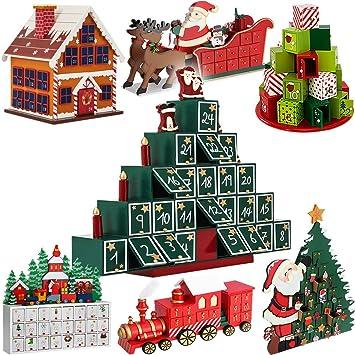 Wundervoll Adventskalender Zum Befüllen Pyramide ✓ Modellauswahl ✓ DIY ✓ Holz ✓  Befüllbar U0026 Wiederverwendbar ✓ Holzadventskalender
