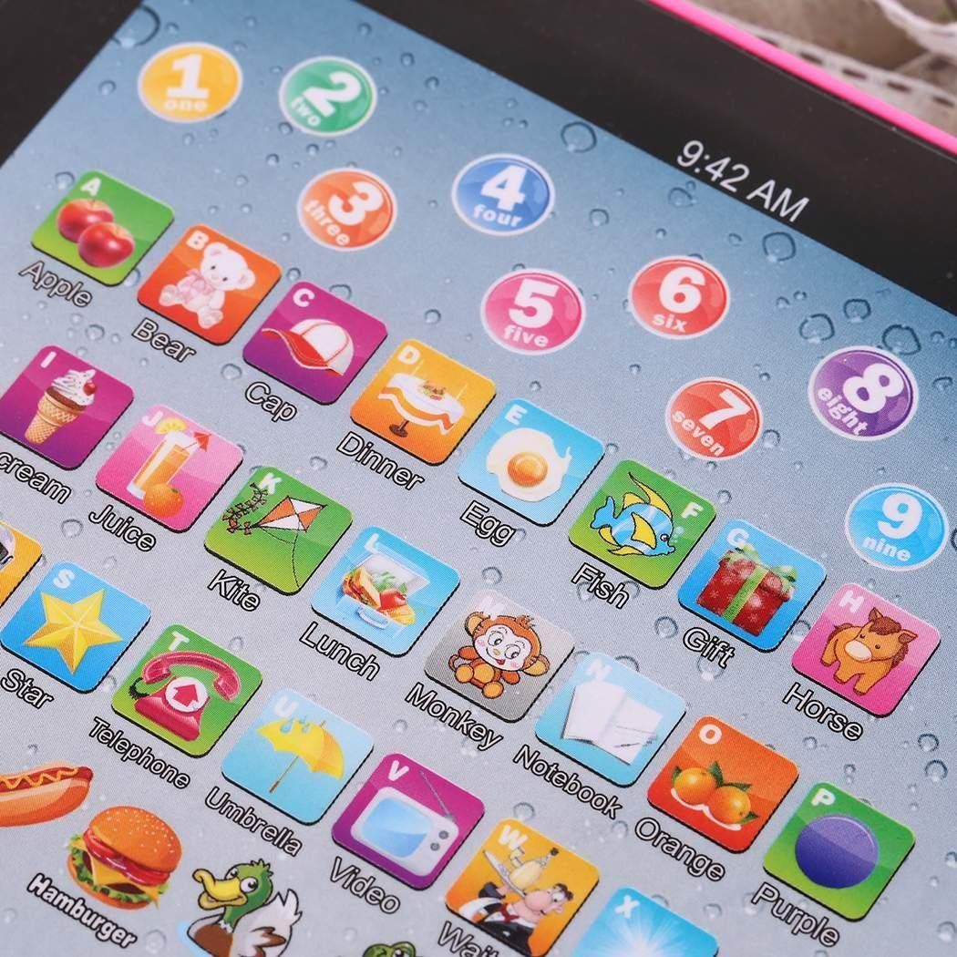 Etuoji Kids Pad Toy Pad Computer Tablet Education Learning Education Machine Touch Screen Tab Electronic Systems by Etuoji (Image #7)