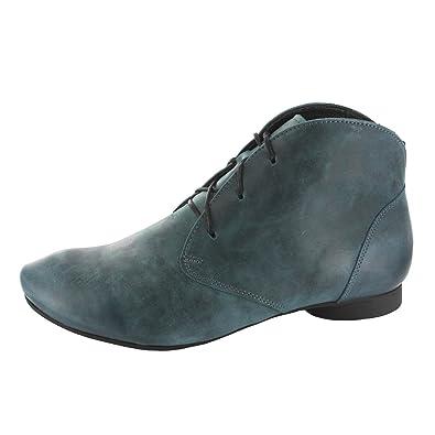 Think Damen Guad_181989 Desert Boots, Schwarz (Schwarz 00), 39 EU