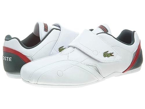 266242f7c6d004 Lacoste PROTECT SSP SPM Mens White Leather Velcro Strap Sneakers Shoes 12   Amazon.ca  Shoes   Handbags