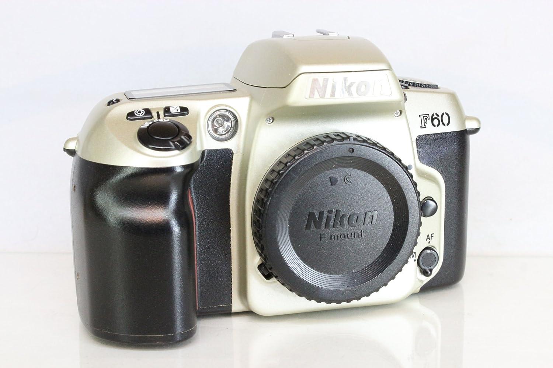 Amazon.com : Nikon N60 35mm SLR Camera (Body only) : Slr Film Cameras :  Camera & Photo