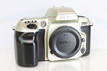 Amazoncom Nikon N60 35mm Slr Camera Body Only Slr Film