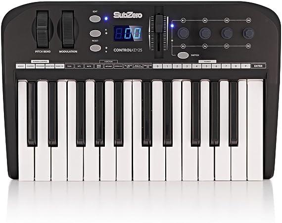 Teclado MIDI SubZero ControlKey25