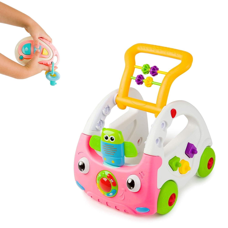 Juju 3 en 1 Discovery Car Andador, Rosa: Amazon.es: Bebé